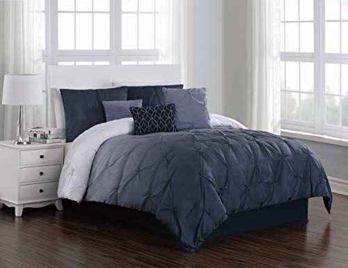 Geneva Home Fashion Bergen Ombre Comforter Set, Twin, Blue