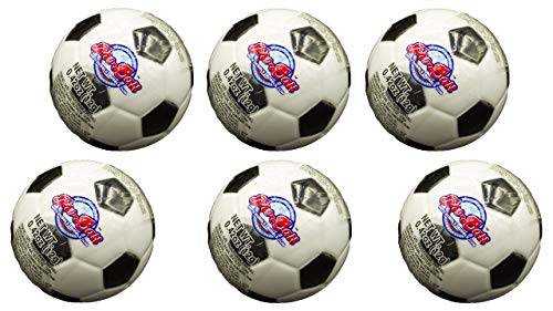 Soccer Ball Pro-Ball Dubble Bubble Gum (6 Pack) Bundle -