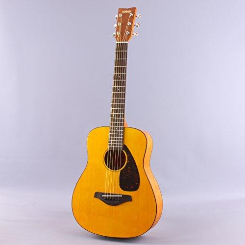 Yamaha JR1 FG Junior 3/4 Size Acoustic Guitar with Gig Bag and Legacy Accessory Bundle - Image 1