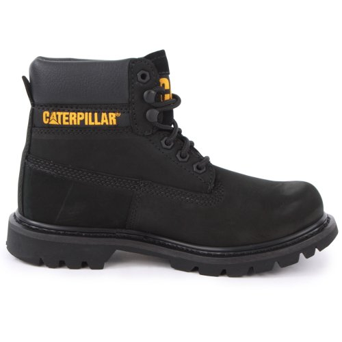 Colorado Boots Laced Caterpillar Black Womens Leather 3 1qUwxO7Rw