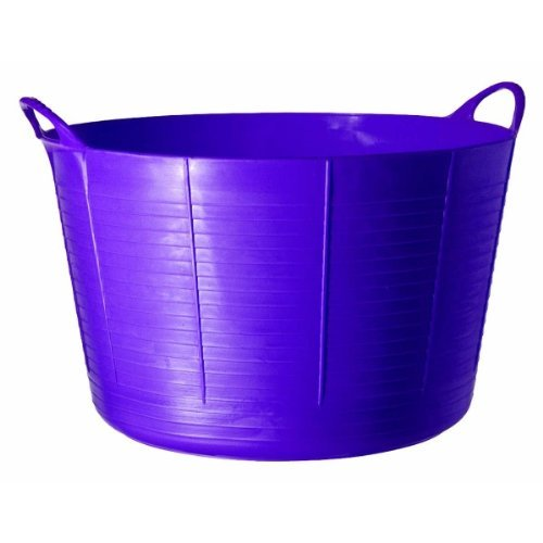 - TubTrugs SP75P X-Large Purple Flex Tub, 75 Liter