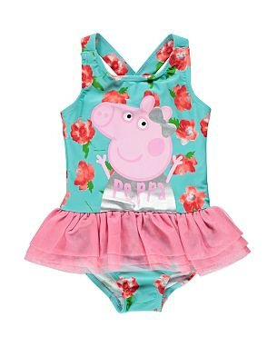 Peppa Pig Swimming Dress With Tutu 15 2 Years Amazoncouk Clothing