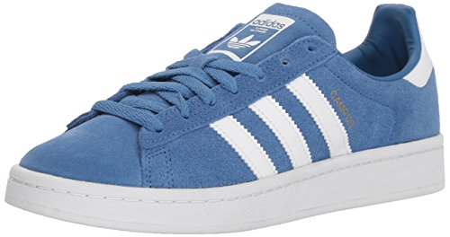 Price comparison product image adidas Originals Kids' Campus J Sneaker,Trace Royal/White/White,4 M US Big Kid