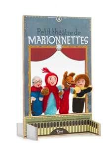Londji - Mini teatro y marionetas de lana