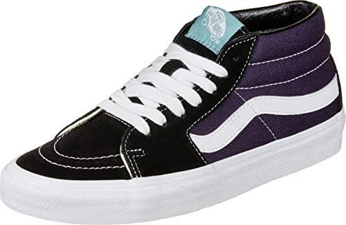 Vans Sk8 Mid Shoes 13 D(M) US Retro Skate Black Mysterioso: Amazon.com