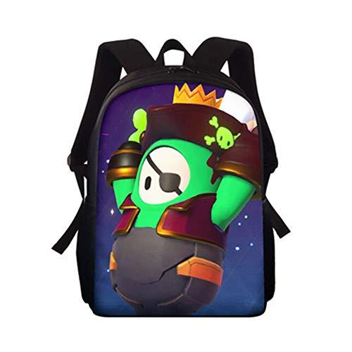 Fall Guys Ultimate Knockout School Backpack for Girls Boy Bookpack Shoulder Bag Kindergarten Primary