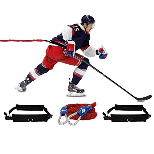 SPEEDSTER HOCKEY TRAINING SYSTEM – LIGHTNING SPEED ON ICE SPEED, OVERSPEED AND RESISTANCE TRAINER – PRO ELITE PACKAGE: ULTRA HEAVY RESISTANCE – DiZiSports Store