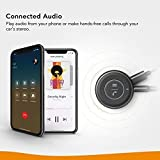 Roav Bluetooth Receiver, by Anker, with Bluetooth 4.1, CSR Bluetooth Chip, Noise-Cancellation, Integrated Mic for Hands-Free Calling, AUX-Out Port, and a USB Charging Port
