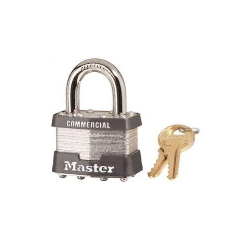 Master Lock 1KA 2126 Padlock, Pack of 1, Gray