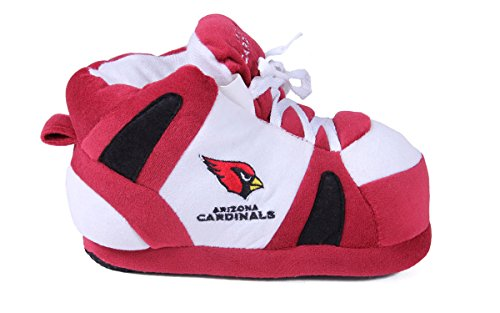 NFL OFFICIALLY Slippers Happy LICENSED and Arizona Cardinals Mens Feet Comfy Feet Sneaker Womens qSwpOSZ