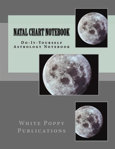 Read Online Natal Chart Notebook: Do-It-Yourself Astrological Charts ebook