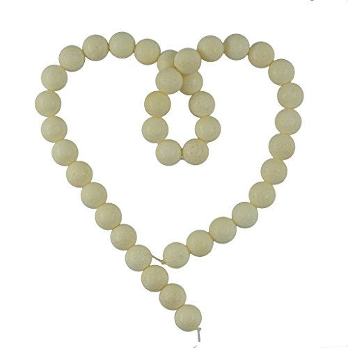 Coral 10mm Round Beads - 4