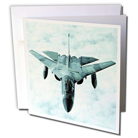 F-111 Bomber (Jet - F-111 Bomber F111 - 12 Greeting Cards with envelopes (gc_322_2))