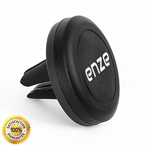 Enze soporte magnético, Enze Universal Air Vent soporte magnético de coche soporte para teléfonos móviles