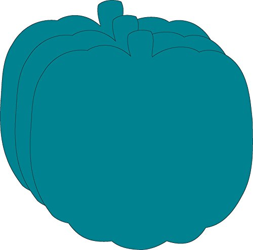Teal Pumpkin Large Creative Cut-Outs (Pumpkin Cut Outs Halloween)