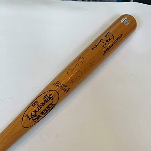 Cal Ripken Jr 1982 Rookie Of The Year Signed Game Model Bat MLB ()