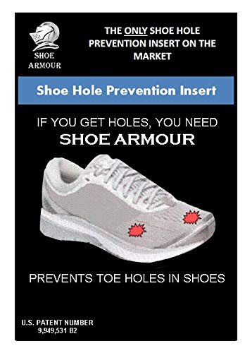 Guard Heel Side Right (Shoe Armour - Shoe Hole Prevention Insert)