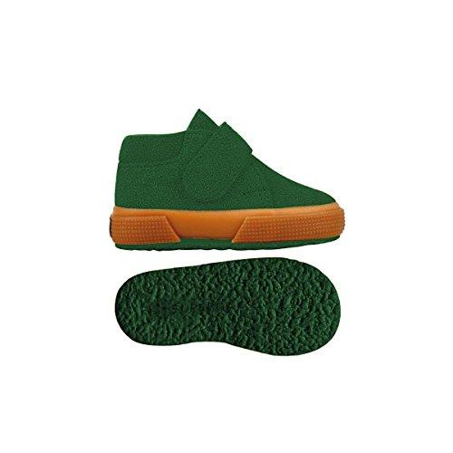 Superga S001NW0 - Zapatos de cordones para niños Green Hill