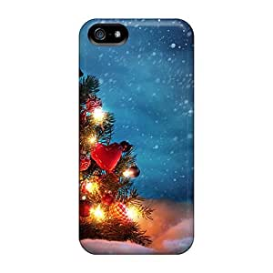 For Iphone 5/5s Fashion Design Beautiful Christmas Tree Case-RiE1808Nxop