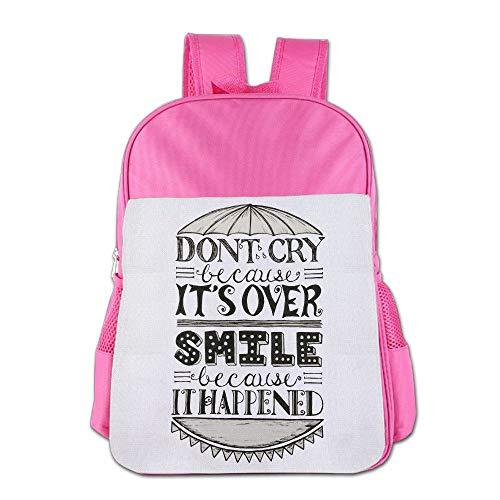 School Bag Backpacks For Girl Boy Don't Cry Children High School Backpack