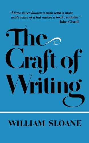 The Craft of Writing