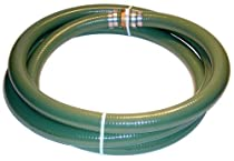 Tigerflex Series J PVC Suction Hose Assembly, Green, 2