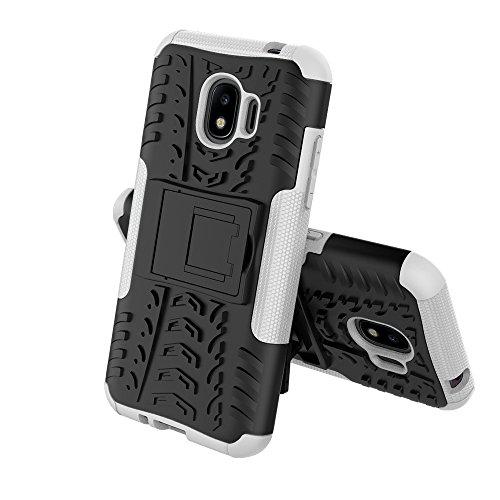 Caja antideslizante al aire libre Sport Back para Samsung Galaxy J2 Pro (2018) ( Color : White ) White