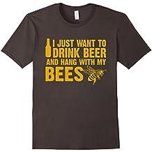 Beekeeper T-Shirt Beekeeping Shirt Drink Beer