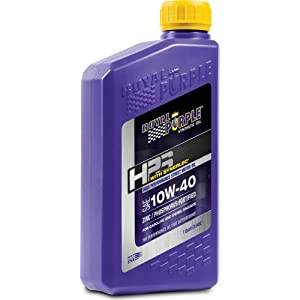 Royal Purple ROY31140 10W40 High Performance Street Motor Oil, 1 Quart