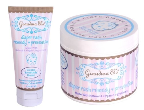 Paste Diaper Rash Ointment Jar (Grandma El's Diaper Rash Ointment Jar (Pack of 3))