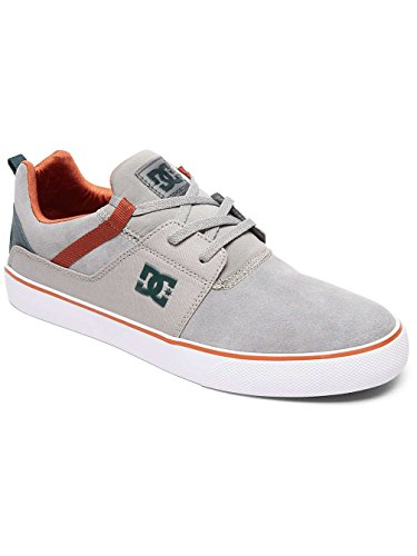 Grey Vulc Green Uomo Heathrow Grey Sneaker DC Shoes 6Sfqw0Sg