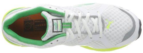 Puma Pumafox v2–Schuh,, Größe Bianco (Blanc (White/Yellow/Island Green))