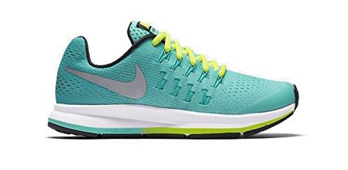 Nike Zoom Pegasus 33 (GS), Zapatillas de Running Para Mujer Verde