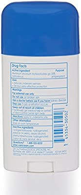 Vanicream Anti-Perspirant Deodorant | Clinical Strength, 24-Hour Protection | Fragrance and Gluten Free | For Sensitive Skin | 2.25 Ounce