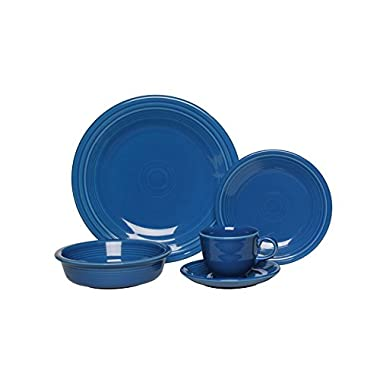 Fiesta 5-Piece Place Setting, Lapis