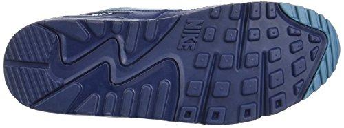 Nike Herren Air Max 90 Essential Schuhe Blau (Midnight Navy/smokey Blue/midnight Navy)