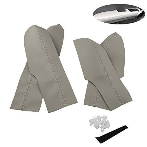 Door Panel Armrest Leather Armrest Cover Door Armrest Cover for Honda Civic 06-11 Armrest Box ()