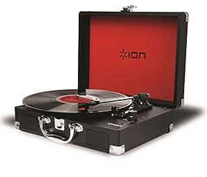 Amazon.com: Ion Audio MotBlack tocadiscos para discos de ...