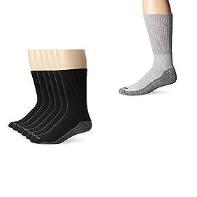 Dickies Men's  Dri-Tech Work Crew Socks One Size