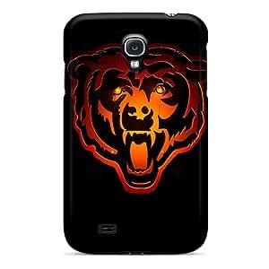 LauraAdamicska Samsung Galaxy S4 Great Hard Phone Case Customized Colorful Chicago Bears Skin [IdN4772asIi]