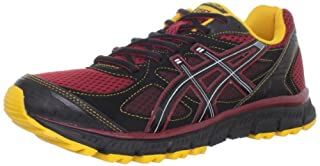 ASICS Men's GEL Scram Trail Running Shoe,BrickBlackSun,11