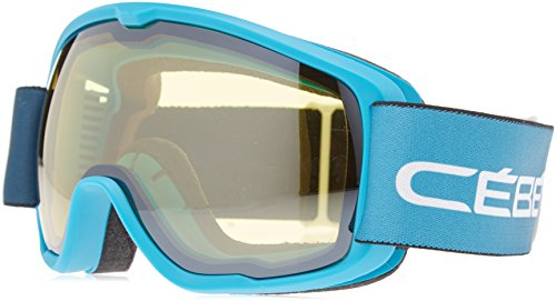 Cébé Artic Masque de Ski Garçon Matt Blue White