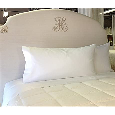 Pandora De Balthazar European Luxury Bedding King Sheet Set White 600TC