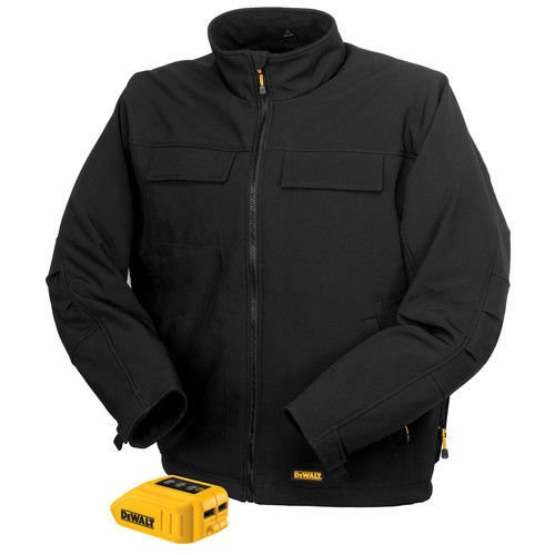 DEWALT DCHJ060B-XL 20V/12V MAX Black Heated Jacket and Adaptor, X-Large by DEWALT