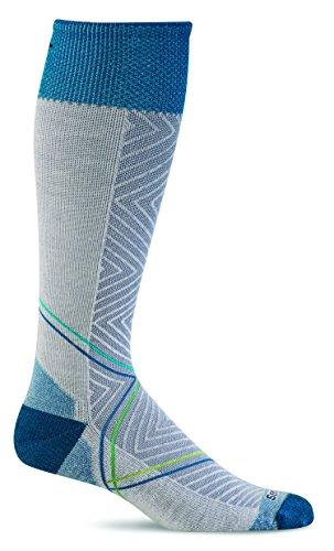 Sockwell Women's Pulse Graduated Compression Socks, Small/Medium, Natural