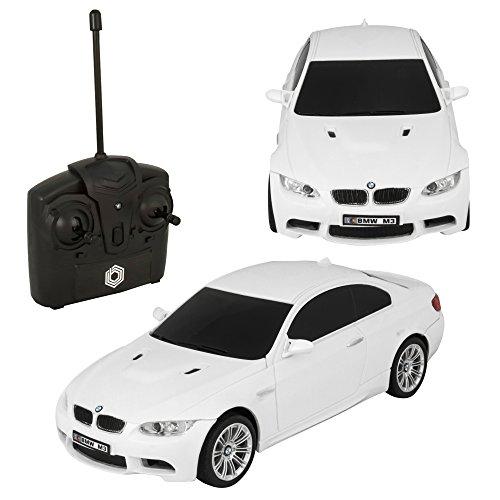[Braha BMW M3 1:24 R/C Car White] (Universal Nitro Starter Box)