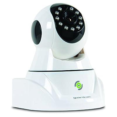 Pilot Electronics Guard Cam Wireless Security, Rotating Lens IP Camera, White (CL-4001)