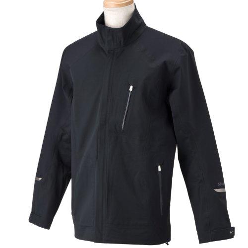 Nike Golf Men's Storm-Fit N-Destruckt Jacket (Black/Flxsvr, Medium)