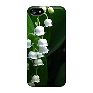 New Fashion Premium Tpu Case Cover For Iphone 5/5s - Nature Lily Of The Valley