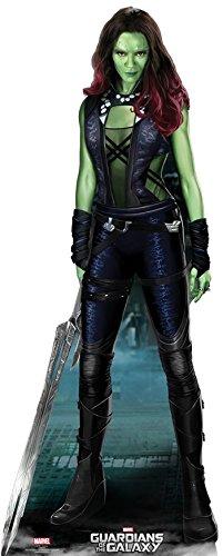 Guardians-of-the-Galaxy-expositor-de-cartn-Marvel-altura-Gamora-180-cm-Standup-soporte-de-cine-de-cartn-soporte-de-tarjeta-de-vida-grande-life-Size-Standup
